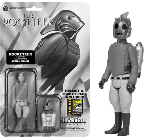 #SDCC14: Funko's First Exclusives Announcement Includes 4 Ghostbusters Items and a B&W Rocketeer
