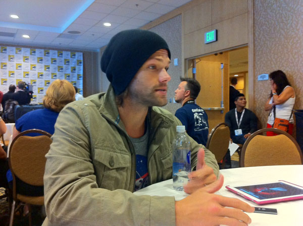 sdccsupernaturalpadalecki - #SDCC 2013: Jared Padalecki, Robert Singer, and Jeremy Carver Talk Supernatural Season 9