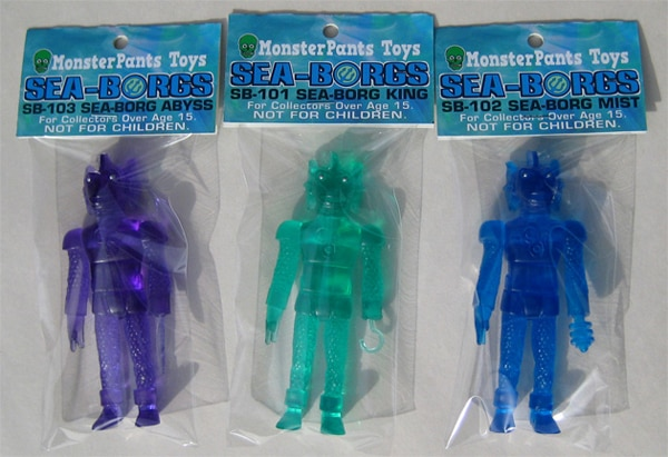 The Sea-Borgs Are Here from MonsterPants Toys!