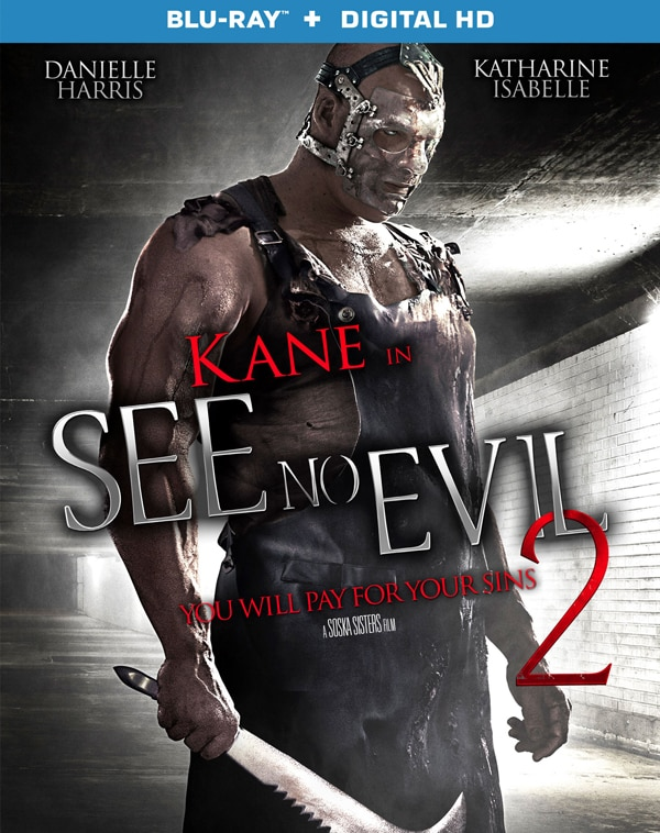 seenoevil2blu - See No Evil 2 Digital/VOD and Blu-ray/DVD Release Dates Announced for October; See the Trailer and Artwork