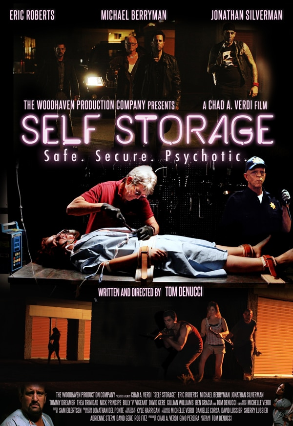 First Poster Arrives for Woodhaven Production Company's Film Self Storage