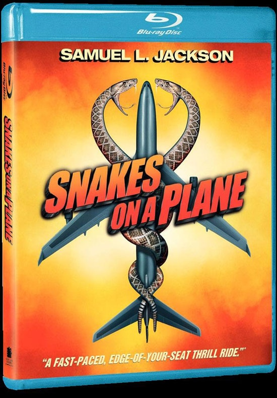 Snakes on a Plane on Blu-ray