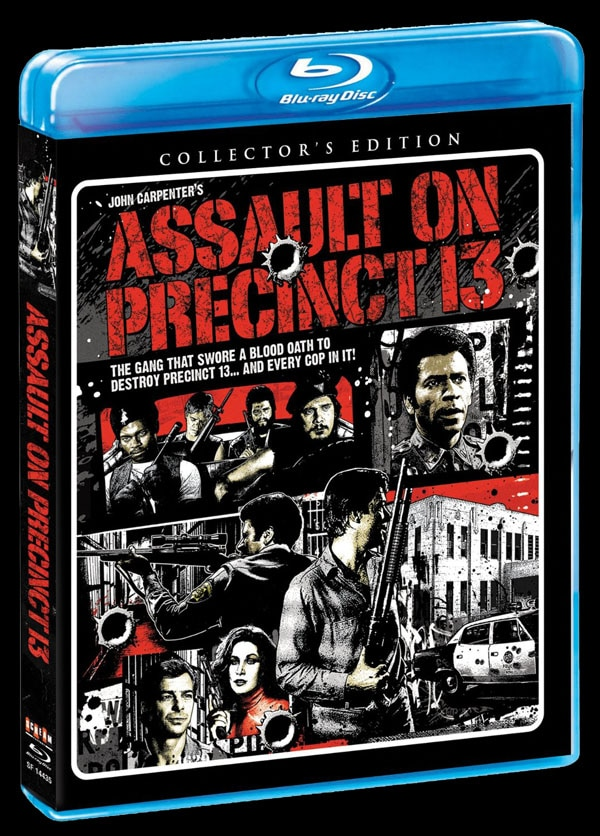sf assault on precinct 13 blu ray - Scream Factory Art Explosion - Assault on Precinct 13, Eve of Destruction, Body Bags, Night of the Comet, The Horror Show, and More!