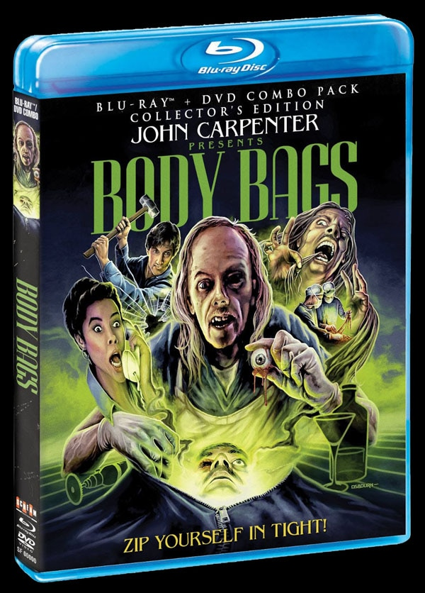 sf body bags blu ray - Scream Factory Art Explosion - Assault on Precinct 13, Eve of Destruction, Body Bags, Night of the Comet, The Horror Show, and More!