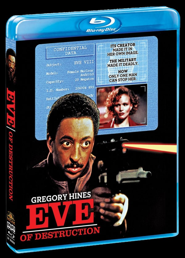 sf eve of destruction blu ray - Scream Factory Art Explosion - Assault on Precinct 13, Eve of Destruction, Body Bags, Night of the Comet, The Horror Show, and More!