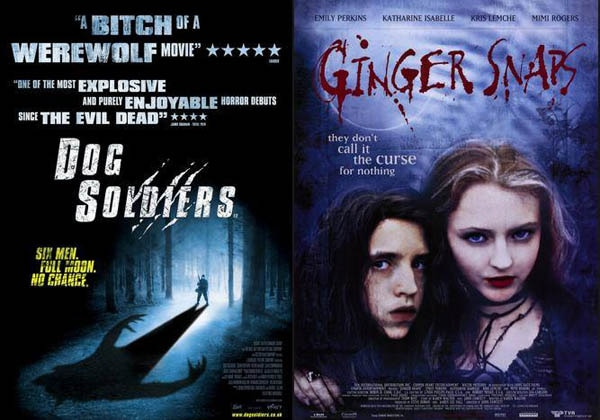 The Scream Factory Gets Hairy in 2014 with Ginger Snaps and Dog Soldiers