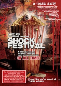Stephen Romano's Shock Festival DVD (click for larger image)