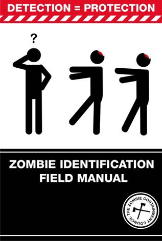 The Survival of the Dead Zombie Identification Field Manual