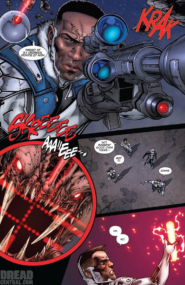See Three More Pages from Legendary Comics' Shadow Walk!