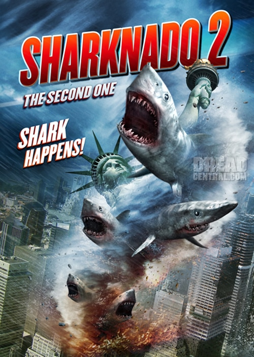 sharknado 2 art - Everything You Need to Know About Sharknado Before Sharknado 2's July 30th Premiere