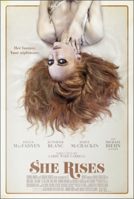 she rises - A Second Teaser Trailer Lifts Off for Larry Wade Carrell's She Rises