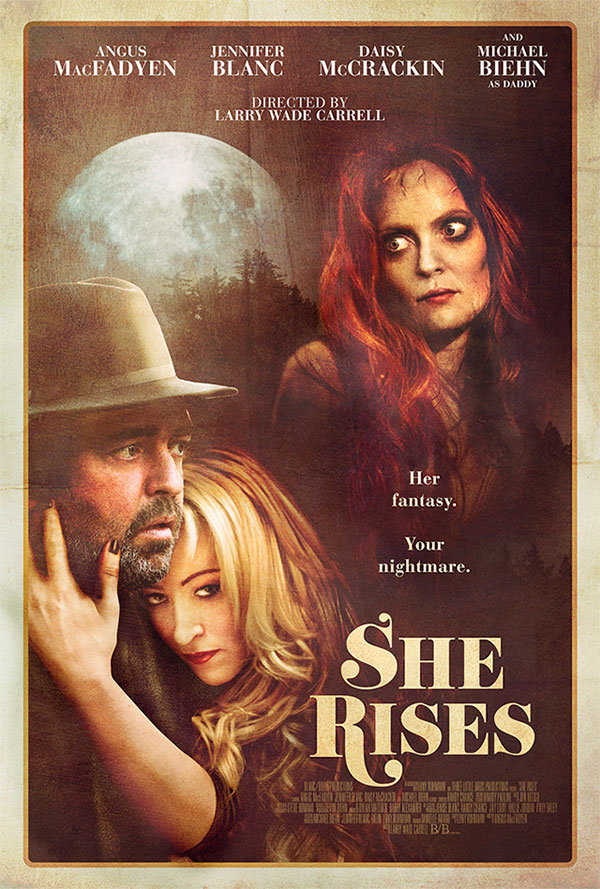 she rises1 - A Second Teaser Trailer Lifts Off for Larry Wade Carrell's She Rises