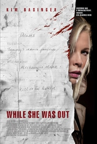 While She Was Out poster!
