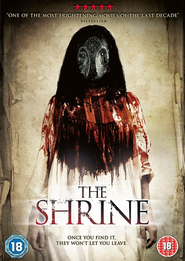 UK Readers: Win a Copy of The Shrine on DVD!