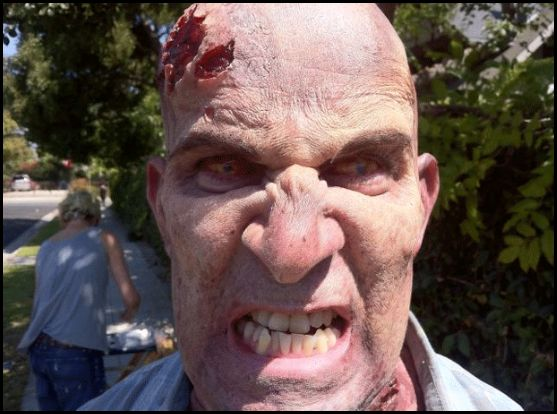 Anthrax's Scott Ian Gets Zombiefied for The Walking Dead