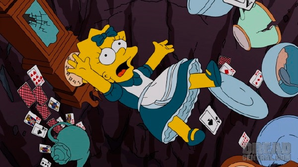 simpsons 2 - Guillermo del Toro Climbs The Simpsons Treehouse of Terror XXIV