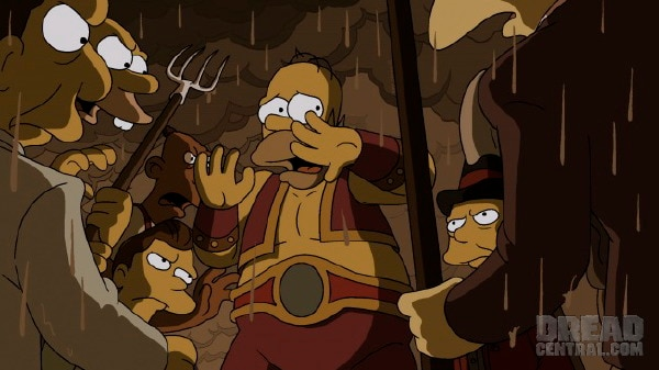 simpsons 3 - Guillermo del Toro Climbs The Simpsons Treehouse of Terror XXIV
