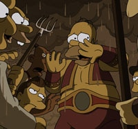simpsons s - Guillermo del Toro Climbs The Simpsons Treehouse of Terror XXIV