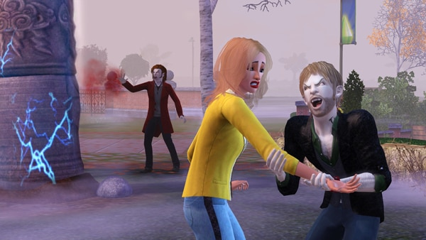 New Screens Arrive for the Sims 3 Supernatural