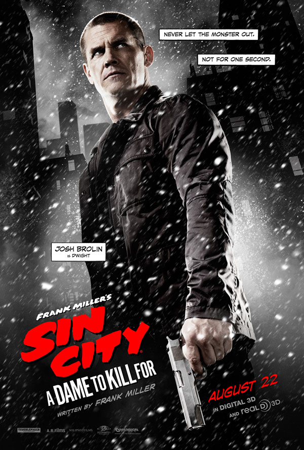 sin city 2 poster 2 - Second Sin City: A Dame to Kill For Trailer Goes Crazy