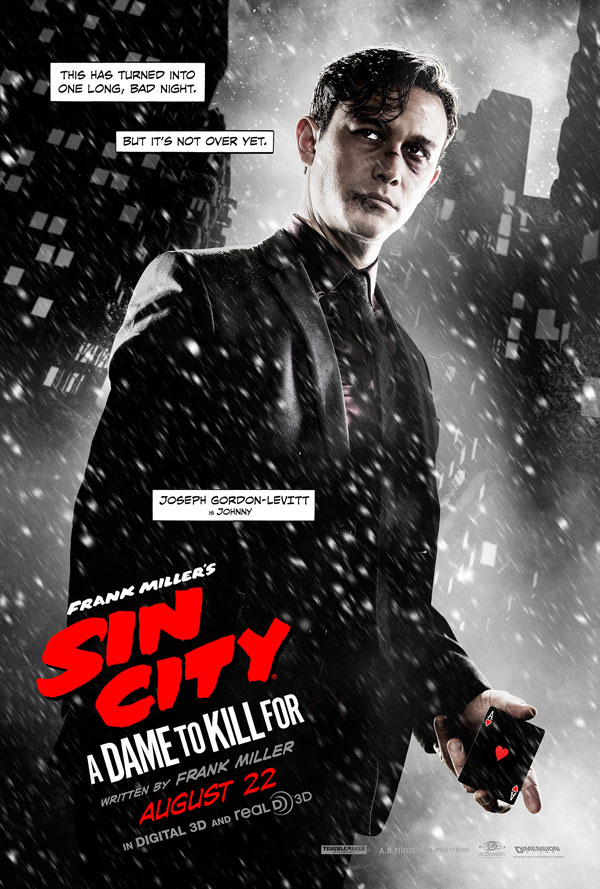 sin city 2 poster 3 - Second Sin City: A Dame to Kill For Trailer Goes Crazy