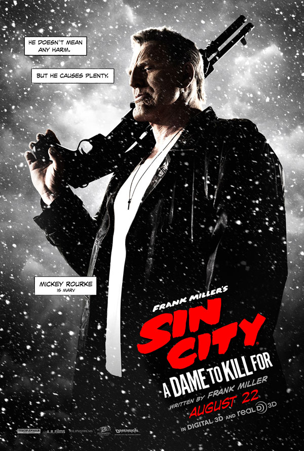 sin city 2 poster 4 - Second Sin City: A Dame to Kill For Trailer Goes Crazy