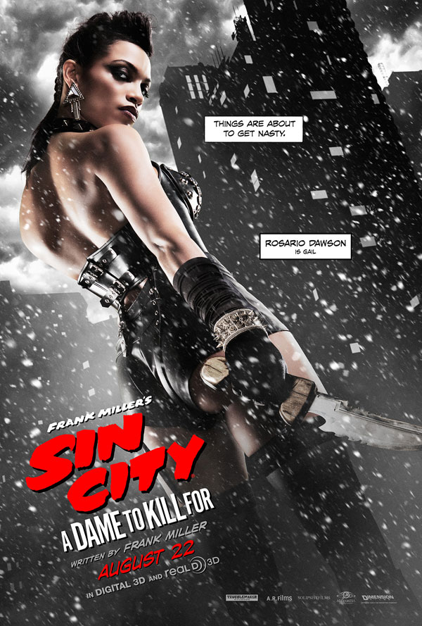 sin city 2 poster 5 - Second Sin City: A Dame to Kill For Trailer Goes Crazy