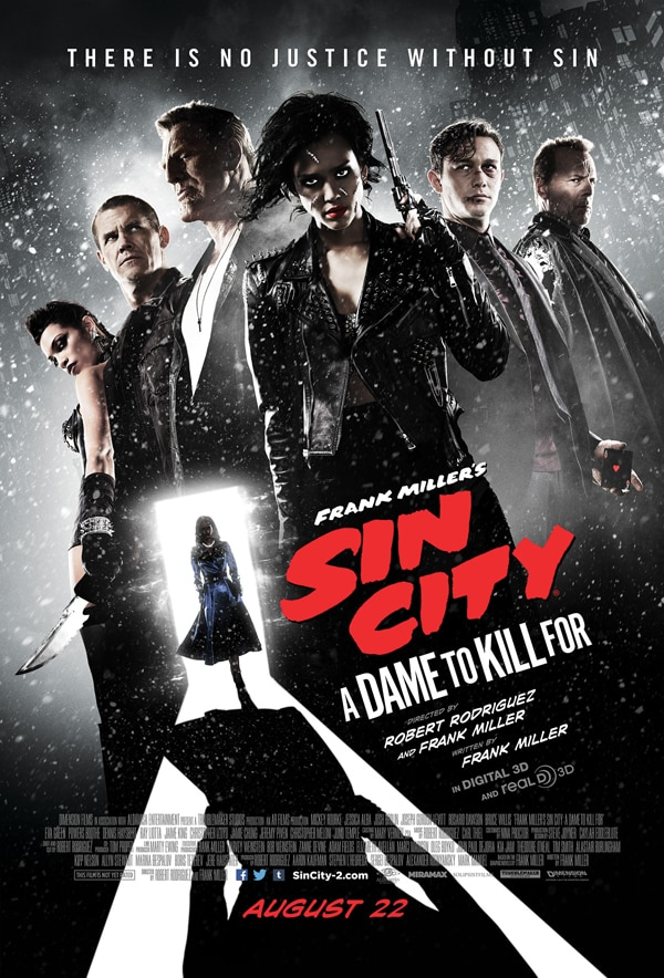 sin city a dame to kill for poster - New Sin City: A Dame to Kill For One-Sheet Gathers Up the Gang