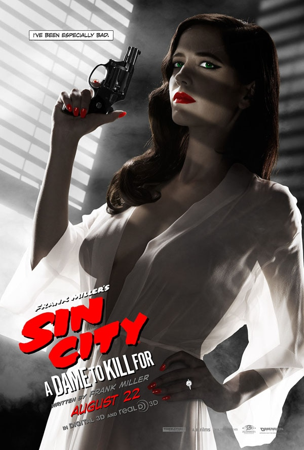 sin city nipple - New Sin City: A Dame to Kill For One-Sheet Gathers Up the Gang