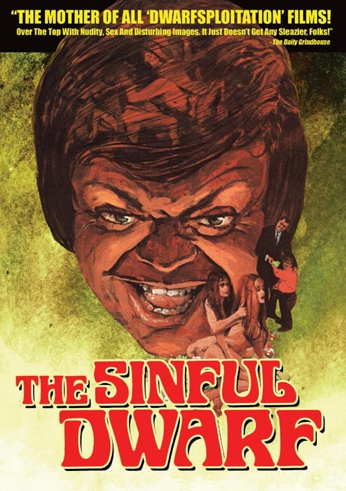 The Sinful Dwarf on DVD