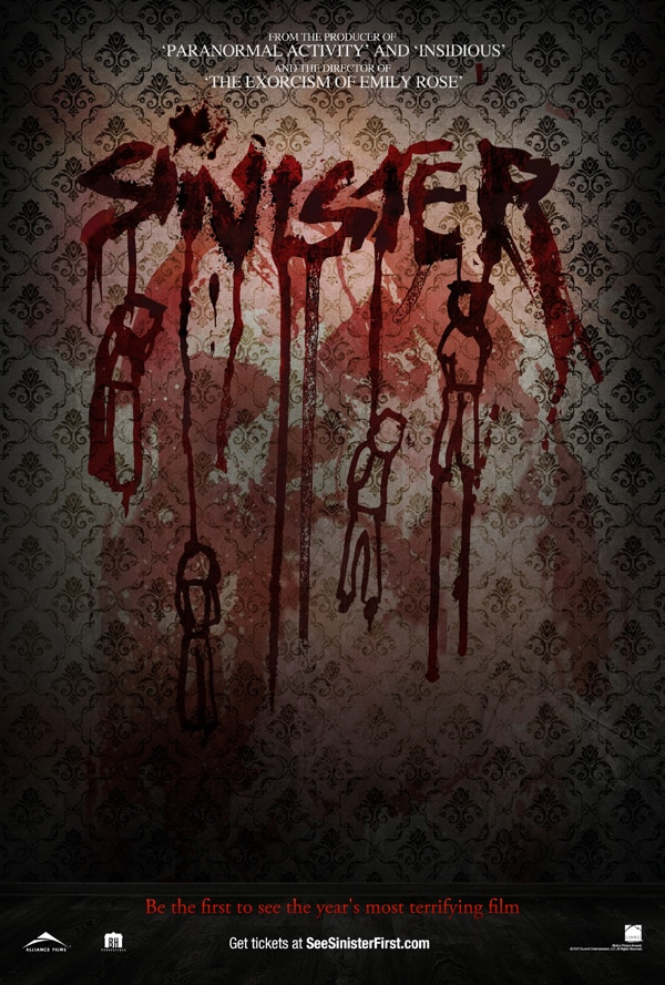 Second Sinister One-Sheet Found Hanging Around