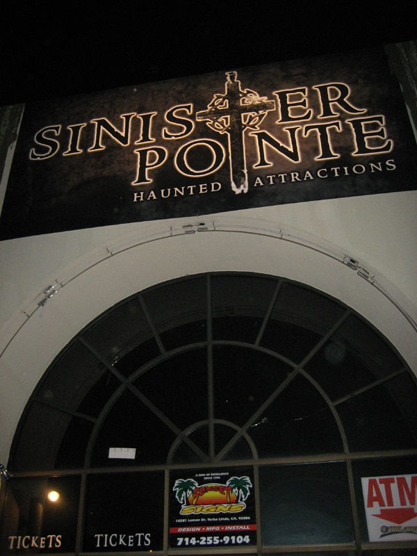 Dread Central Goes to Sinister Pointe