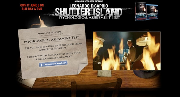 Take the Shutter Island Psychological Assessment