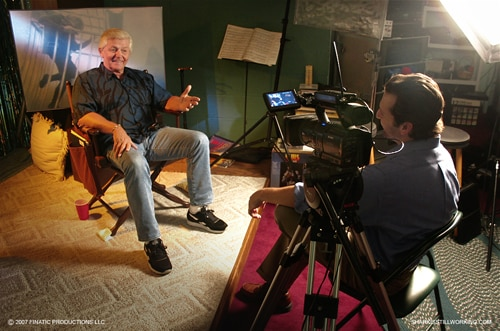 Dick Warlock discusses being a stunt double in Jaws from The Shark is Still Working doccumentary