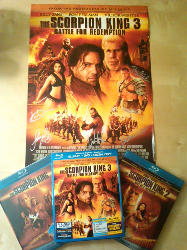 Win a Copy of The Scorpion King 3: Battle for Redemption