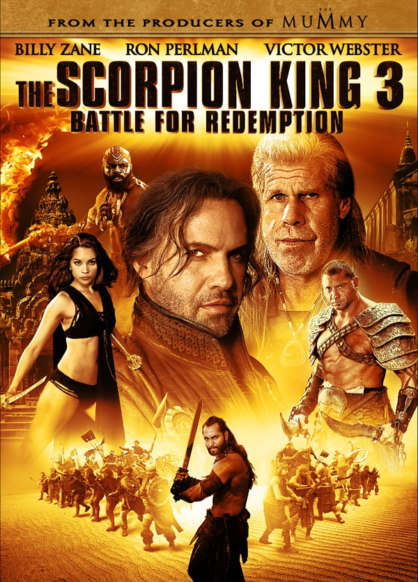 The Battle Begins for The Scorpion King 3 with These New Clips