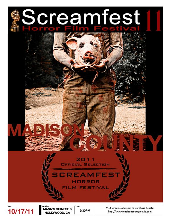 Madison County to Premiere at Screamfest LA