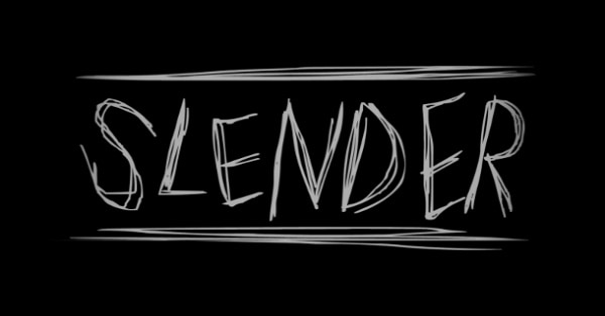 Experimental Horror Game Slender Turns Heads