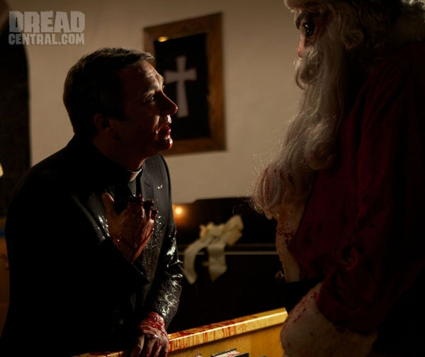 First Official Look at Jaime King and Malcolm McDowell in Silent Night (click for larger image)
