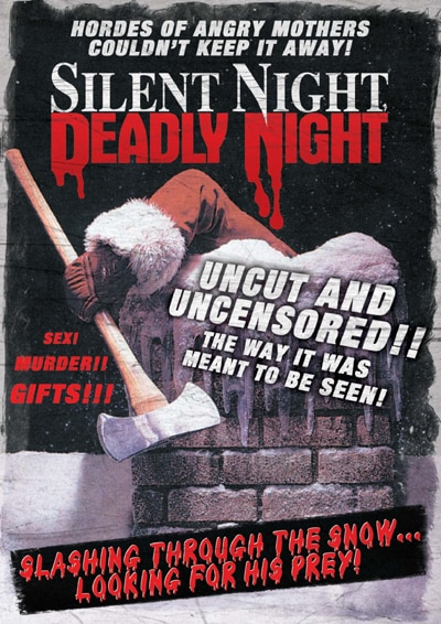 Spread Some Christmas Fear - Win Copies of the Silent Night Deadly Night Double Feature DVD and Silent Night on Blu-ray!