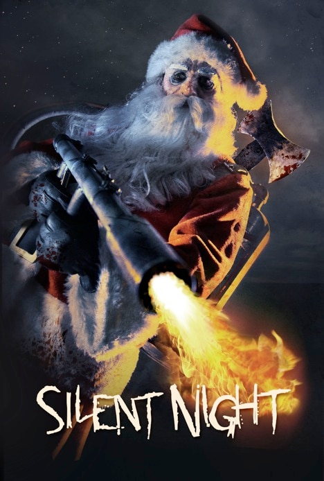 Silent Night One-Sheet Takes Aim and Hits the Mark with a Bang