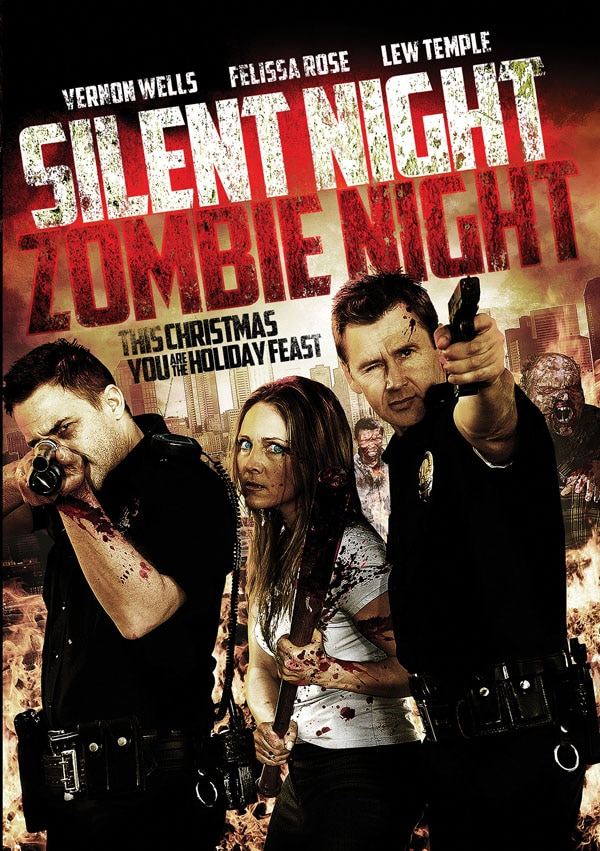 Silent Night, Zombie Night Sets a Release Date; First Look at the Box Art and New Trailer