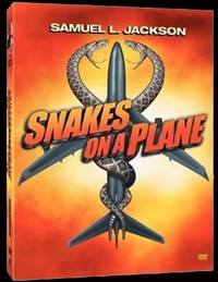 Snakes on a Plane DVD (click for larger image)