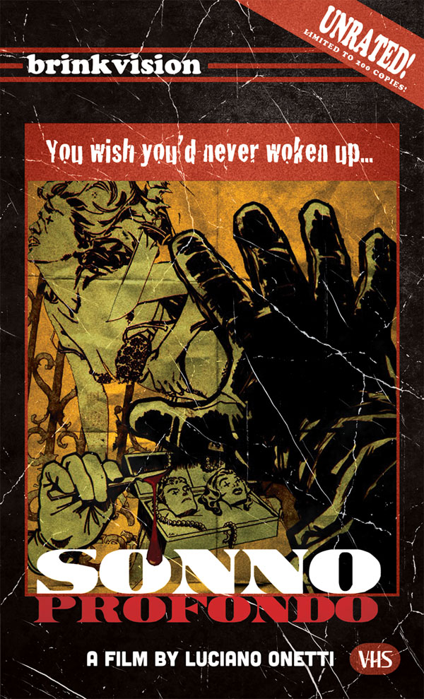 BrinkVision Releasing Giallo-esque Sonno Profondo on DVD and VHS Later this Year