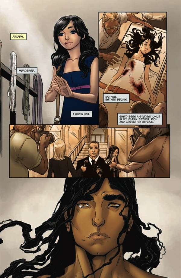 Excerpt from Issue #1 of Anne Rice's Servant of the Bones Comic Adaptation