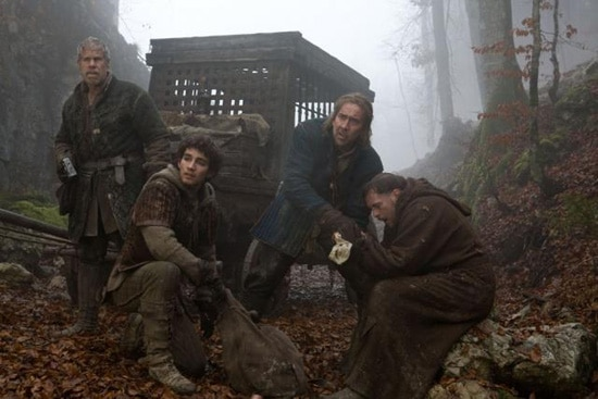 Exclusive: Ron Perlman, Robert Sheehan & Charles Roven Talk Season of the Witch