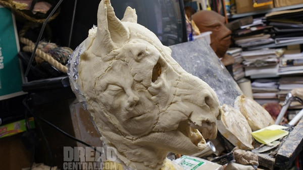 First Details on Spavine and a Sneak Peek of the FX Sculpts of the Killer