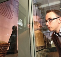 The Seen and The Unseen - Egyptian Statue Displays Deep-Seated Male Tendencies