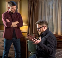 Dean Issues an Ultimatum in this Clip from Supernatural Episode 9.15 - #THINMAN