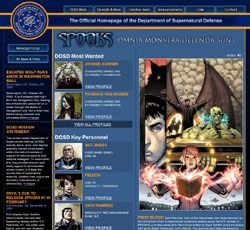 SPOOKS Issue 2 (click for larger image)